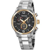 Relógio de Pulso Seculus Masculino com Cronógrafo 13040G -