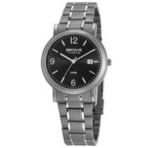 Relógio de Pulso Seculus Unissex Titanium 23637G0SVNT2 - Cinza -