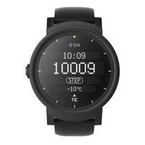 Relógio de Pulso TicWatch Express SmartWatch com Pulseira de Borracha Unissex PXPX WF12086 - Preto - Seculus
