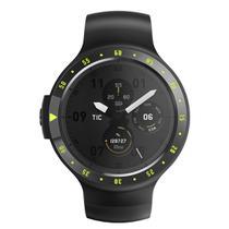 Relógio de Pulso TicWatch Sport SmartWatch com Pulseira de Borracha Unissex PXPX WF12066 - Preto -