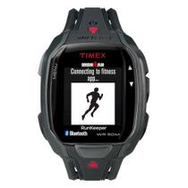 Relógio de Pulso Timex Run x50+ Smartwatch Unissex com Pulseira de Borracha TW5K84600 - Preto -