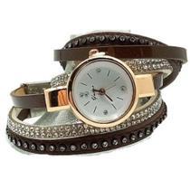 Relógio de quartzo Vintage 3 Pulseiras - Was