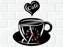 Relógio De Vinil Disco Lp Parede  Café Cozinha - 3D Fantasy