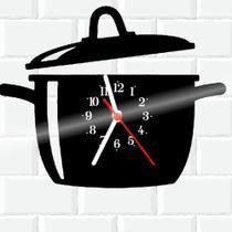 Relógio De Vinil Disco Lp Parede  Cozinha Casa Decoracao - Rb Criações