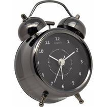 Relógio Despertador 15 cm Fume - Renna