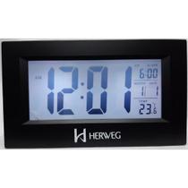 Relógio Despertador Digital 2972 Herweg -