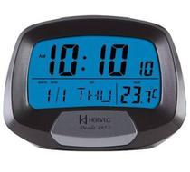 Relógio Despertador Digital Termômetro Calendário Herweg 2977 - 1 Ano Garantia -