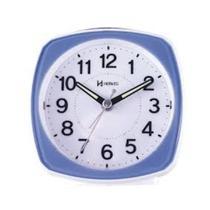 Relógio despertador herweg serenity branco e azul 2711-321 -