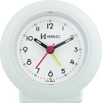 Relógio Despertador Peq. Quartz 2611 Herweg - Várias Cores -