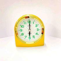 Relógio Despertador Quartz Linea Dourado HALLER -