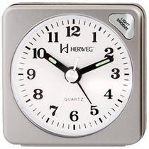 Relógio Despertador Quartz Tradicional Herweg 2510-70 -