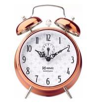 Relógio Despertador Vintage Retro Herweg 2384 -