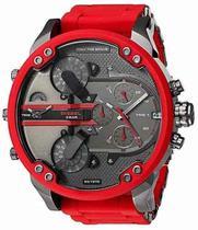 Relógio Diesel Dz7370 Vermelho -