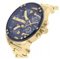 Relógio Diesel Dz7399 Mr. Daddy 2.0 Dourado 57 Mm -