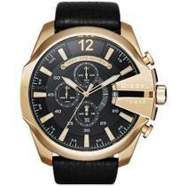 Relógio Diesel G005 Masculino 10bar Banhado A Ouro 18k / Pulseira Couro -