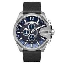 Relógio Diesel Masculino Dz4423/0an pulseira de couro -