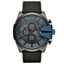 Relógio Diesel Masculino Dz4500/8cn Grafite e azul Lançamento -