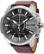 Relógio Diesel Masculino Mega Chief Cronógrafo Dz4290/0pn -