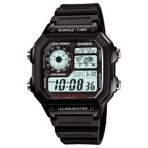 Relógio Digital Casio AE-1200WH-1AVDF Masculino -