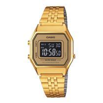 Relógio Digital Casio Vintage LA680WGA-9B Feminino -