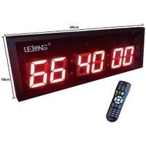 Relógio digital com cronometro Lelong LE 2119 -