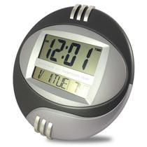 Relógio digital de mesa e parede despertador cronômetro e temperatura - Mb Tech