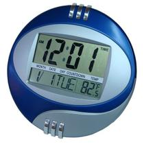 Relógio Digital De Parede Mesa Despertador Grande Termometro - Exclusivo
