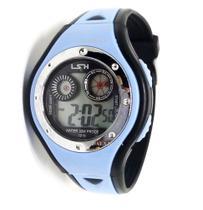 Relógio Digital Infantil Meninos Shock Luz Azul bebê - Sm