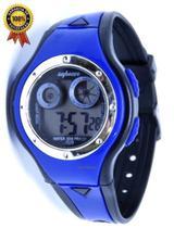 Relógio Digital Infantil Meninos Shock Luz Azul - Sm