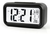 Relógio Digital Lcd Led Despertador Calendário Temperatura - Digital Clock
