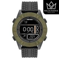 Relógio Digital Mormaii Masculino Action Verde MO5334AB/8V -