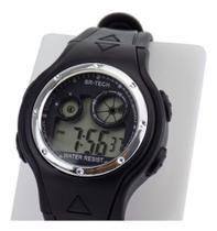Relógio Digital Original Infantil Masculino Silicone Ajustável Alarme Calendário - Infatil