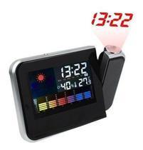 Relógio Digital Projetor Led Despertador Visor Noturno - Exclusivo
