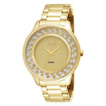 Relógio Dumont Feminino Dourado Analógico Du2035lmk/4x -