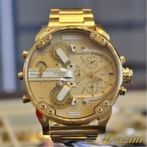 Relógio dz7399/4dn gold 4 máquinas - Diese