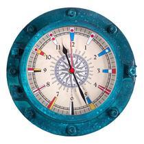 Relógio Escotilha Decorativa - Náutica - CIS - Karin Grace