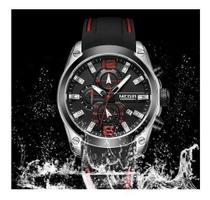 Relógio Esportes Megir Quartzo , Data, Cronômetro Mn2063g-2 -