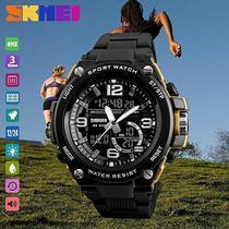 Relógio Esportes / Militar Ana / Digi Cronômetro Skmei 1340 -