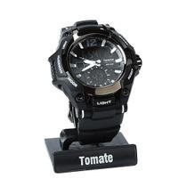 Relógio Esportivo Digital C/ Várias Funções - A Prova D'água - Tomate