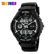 Relógio Esportivo Militar Masculino Skmei S-shock 0931 LED Digital Analógico À Prova D'Água Alarme Cronometro Quartz Junqiao - Original -