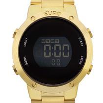 Relógio Euro Digital feminino EUBJ3279AA/4D Dourado -