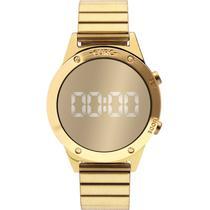 Relógio Euro Feminino Eujhs31bab/4d Digital Mirror Dourado -