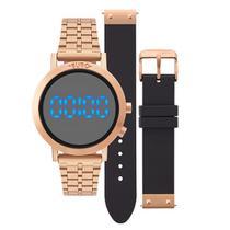 Relógio Euro Feminino Fashion Fit EUBJ3407AC/T4P + Pulseira -