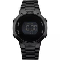 Relógio Euro Feminino Fashion Fit Preto EUBJ3279AB/4P -
