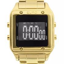 Relógio Euro Feminino Quadrado Fashion Fit EUG2510AA/4P Dourado Sabrina Sato -