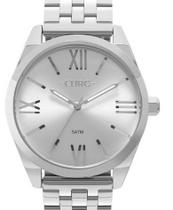 Relógio Euro Feminino Recortes Prata EU2035YNH/3K -