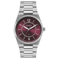 Relógio Euro Feminino Ref: Eu2035yre/3n Casual Prateado -