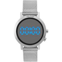 Relógio Euro Feminino Ref: Eubj3407ab/3p Digital Fashion Fit Prata -