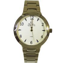Relógio Feminino Allora Al2036cl/k4y Dourado -