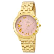 Relógio Feminino Allora Analógico AL2036FGL/4Q - Dourado -